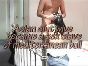 Eine asiatische Frau trifft Freund für Sex